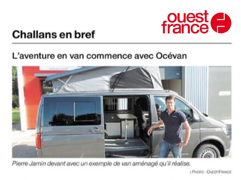Océvan dans Ouest France